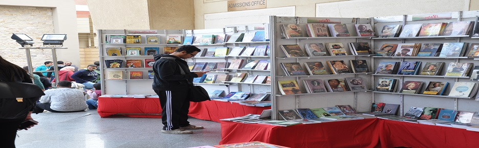 MIU 6th Book Fair with the cooperation of the General Egyptian Book Organization